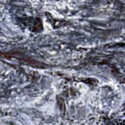 Abstract Rapids 5 Art Print