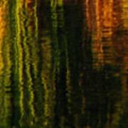 Abstract Reeds Triptych Bottom Art Print