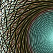 Abstract Ring Art Print