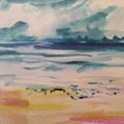 Abstract Seascape Art Print