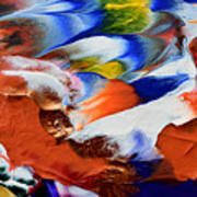 Abstract Series N1015al  Art Print