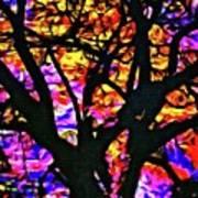 Abstract Tree 304 Art Print