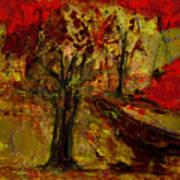 Abstract Tree Art Print