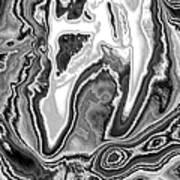 Abstract Tulip 2 Art Print