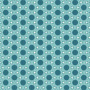 Abstract Turquoise Pattern 3 Art Print