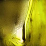 Abstract Yellow Art Print