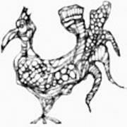 Abstraction 1228 - Marucii Art Print