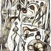 Abstraction 2217 Art Print