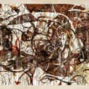 Abstraction 2406 Art Print