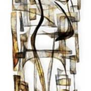 Abstraction 2430 Art Print