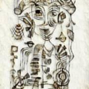 Abstraction 2570 Art Print