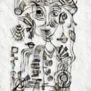Abstraction 2573 Art Print