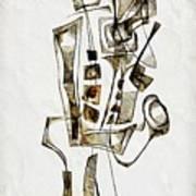 Abstraction 2842 Art Print