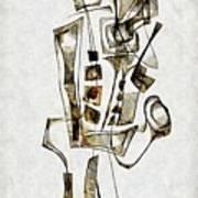 Abstraction 2843 Art Print