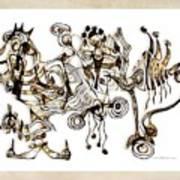 Abstraction 2869 Art Print