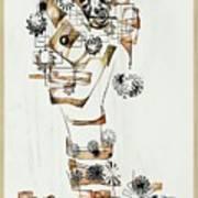 Abstraction 2990 Art Print