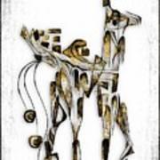 Abstraction 3091 Art Print