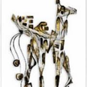 Abstraction 3092 Art Print