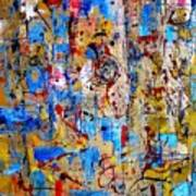 Abstraction 763 - Marucii Art Print