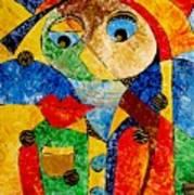 Abstraction 770 - Marucii Art Print