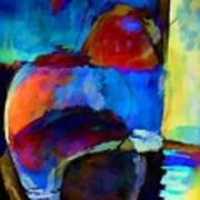 Abstraction 775 - Marucii Art Print