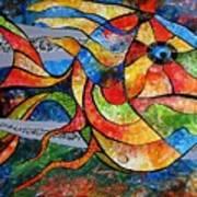 Abstraction 787 - Marucii Art Print