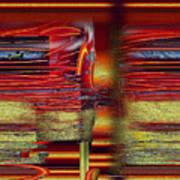 Abstrakt 53 Art Print