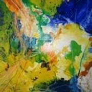 Abstraktes Bild 18 Art Print