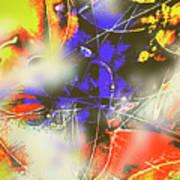 Abstrato Zzzm Art Print