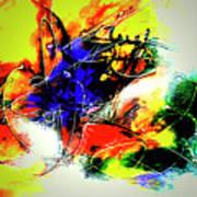 Abstrato Zzzo Art Print