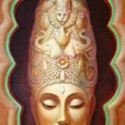 Abundance Meditation Print by Sue Halstenberg