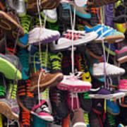 Abundance Of Shoes Art Print