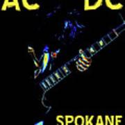 Ac Dc Rocks 2 Art Print