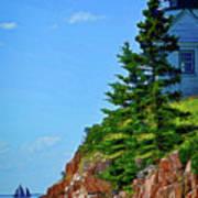 Acadia Lighthouse Art Print