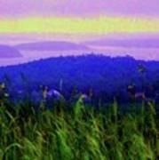 Acadia Sunrise Art Print