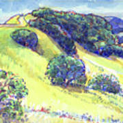 Acalanes Ridge, Lafayette, Ca Art Print