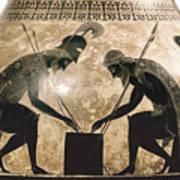 Achilles & Ajax, C540 B.c Art Print