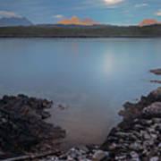 Achnahaird Bay And Assynt Mountains Art Print