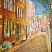 Acorn Street Art Print