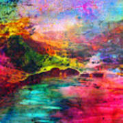 Across Art Print