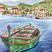 Across The Bay Art Print