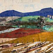 Across The Meadow Art Print by Martha Ressler