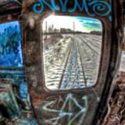 Across The Tracks Art Print
