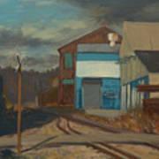 Across The Tracks Art Print by Martha Ressler