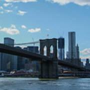Across To Manhattan New York New York Art Print