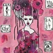 Acrylic Variations Kitri Art Print