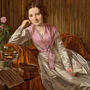 Actress Therese Krones Art Print
