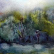 Ada River Art Print