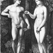 Adam & Eve Art Print