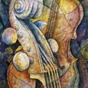 Adam's Cello Art Print